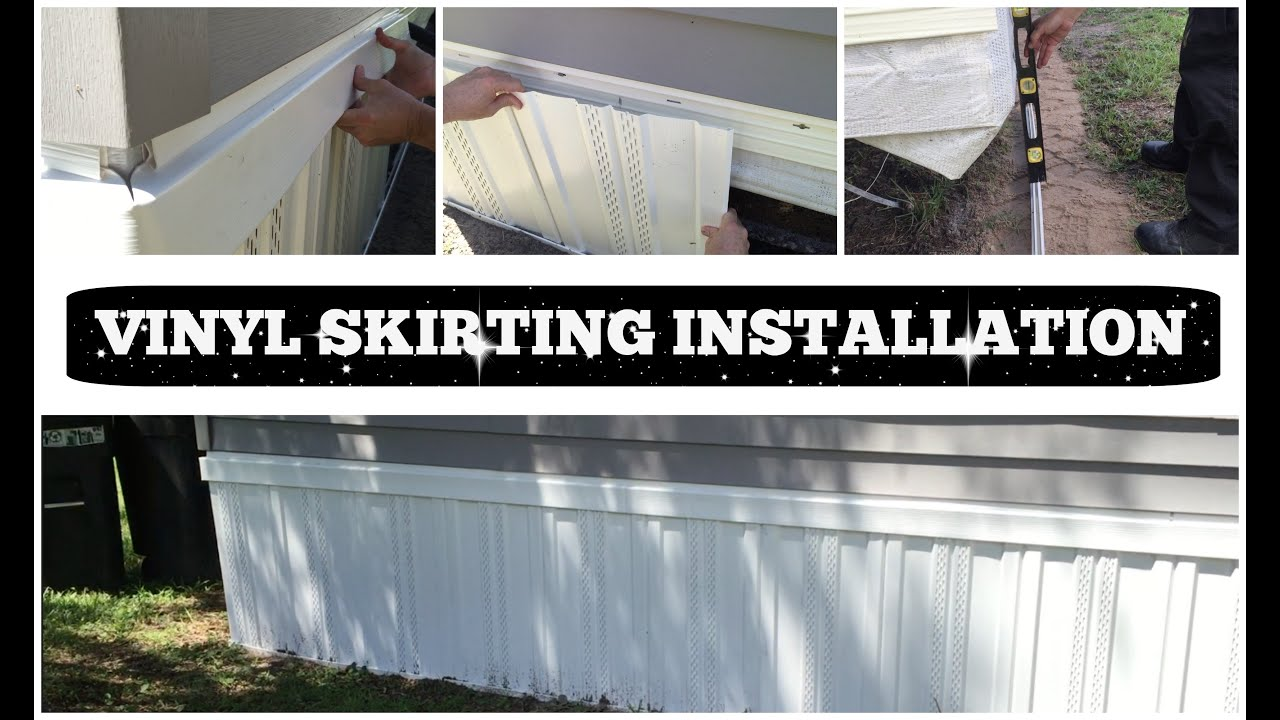 Vinyl Skirting Installation How To Do It Yourself Youtube