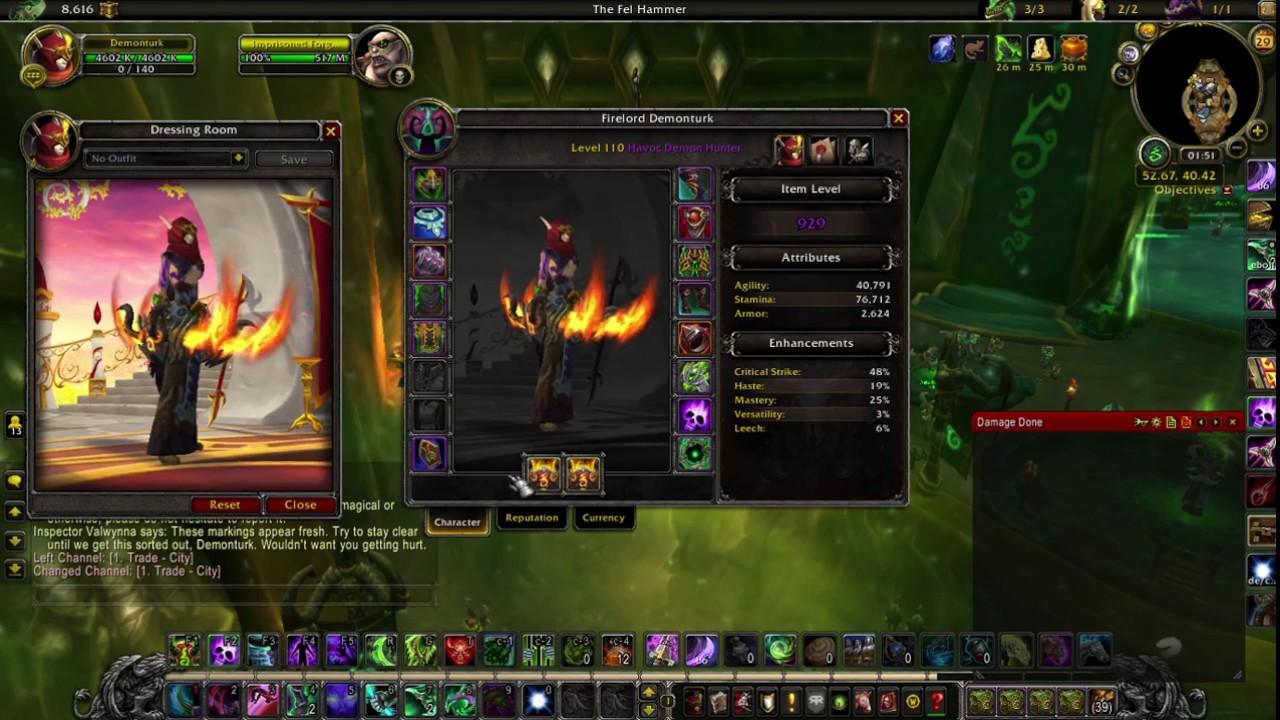 2m Dps Havoc Demon Hunter Guide 7 2 5 Youtube