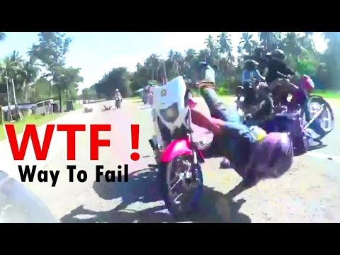 WATCH! Motorcycle Rides Gone Wrong