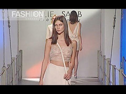 ELIE SAAB Spring Summer 2000 Paris - Fashion Channel