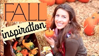 What To Do In the Fall // Fall Inspiration