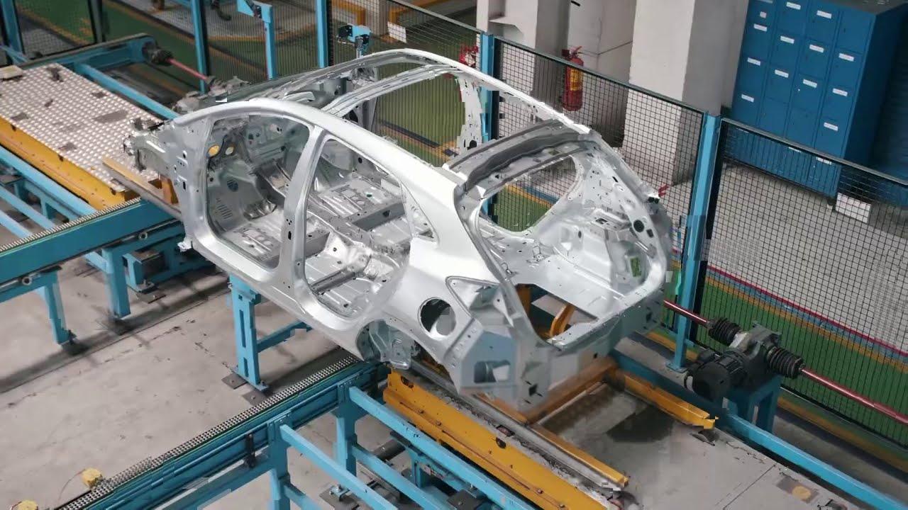 Cum se fabrică... Ford Puma: totul începe cu o foaie de tablă