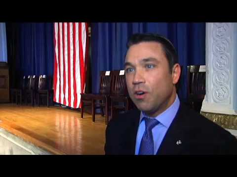 Rep. Michael Grimm NY1: Dean Honored for Saving Student's Life