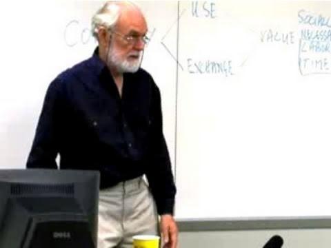 Class 02 Reading Marx's Capital Vol I with David Harvey