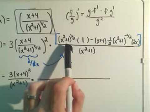 Using the Chain Rule - Harder Example #2