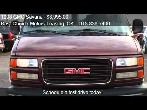 1998 GMC Savana G1500 135 WB Van