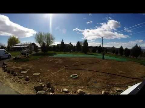 Hydroseeding - Yakima - Time Lapse Instillation