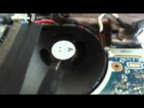 Laptoptan gelen aşırı fan sesi