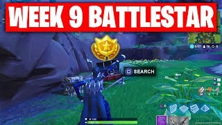 Fortnite 'Season 6 Week 9 Secret Battle Star' Location! (Hunting Party Challenges) WEEK 9 BATTLESTAR
