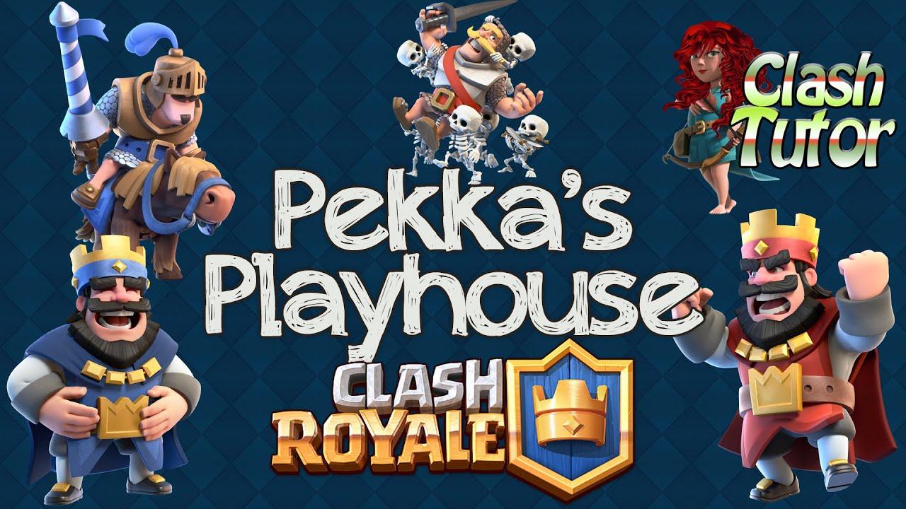 Clash Royale - Pekka's Playhouse 1st Battle - YouTube