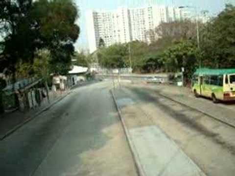 A view through Braemar Hill Bus Terminous