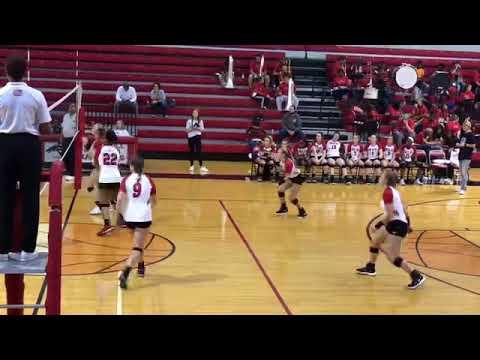 Center Hill High School Volleyball 2019 First Round Playoffs