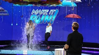 Download Two Fans Suit Up for a Game of 'Make It Rain'! Mp3 and Videos