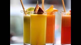 Le JUS ananas maracuja basilic du Café Rollin
