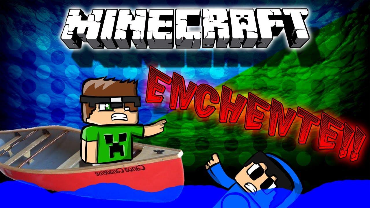 Minecraft enchente mapa pico youtube for Similar a privalia
