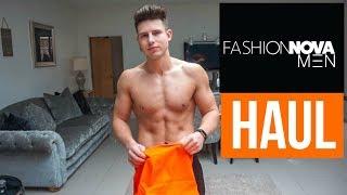 HUGE FASHION NOVA Men's Clothing Haul & Try On
