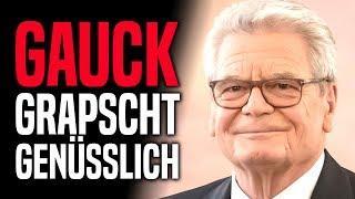 Sexismusvorwurf: Joachim Gauck schlägt wieder zu!