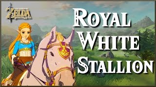 [Zelda Breath of the Wild] How to get the Royal White Horse