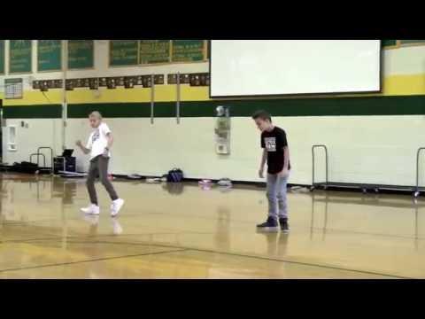 dubstep kids | Cracks dubstep dance | HJH...