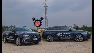 Fiat Tipo Station Wagon VS Hyundai i30 Wagon 2017