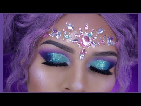 Maquillaje Sirena Carnaval Fantasia Youtube