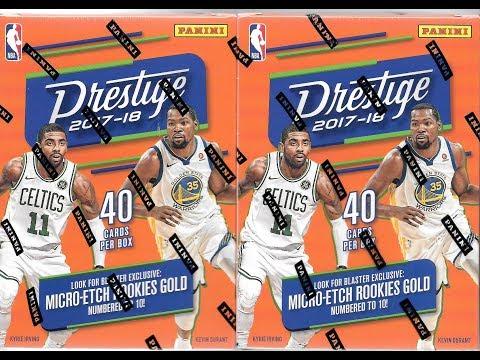 2017/18 Panini Prestige Basketball 2 Blaster Box Break / Celtics Mojo