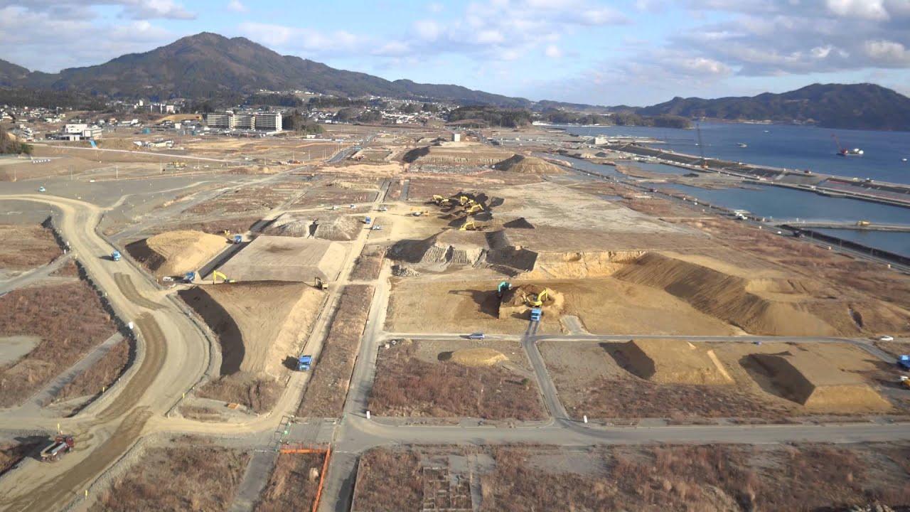 2016-01-11 陸前高田市高田町 - YouTube