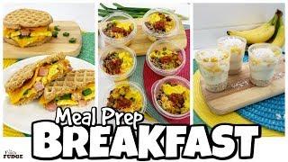MORE Kid Friendly BREAKFAST Meal Prep Ideas ☀️ EASY Shortcut Ideas