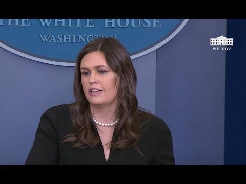 Sarah Sanders BAFFLES reporter when asked on Trump's latest Flip Flops