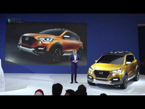 Datsun Memperkenalkan Go-Cross Concept dan Peluncuran Go+ Panca GIIAS 2016 | Oto.com