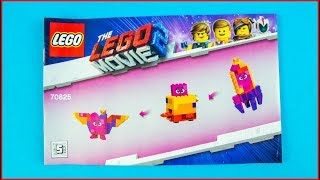 LEGO MOVIE 2 70825 Queen Watevra's Build Whatever Box! E Construction Toy - UNBOXING
