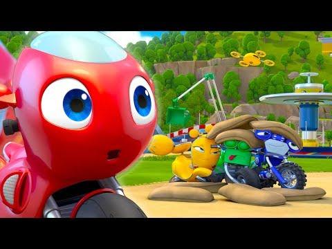 Ricky Zoom Español Latino | El Entrenamiento De Rescate | ¡Ricky Zoom, Míralo En Discovery Kids!