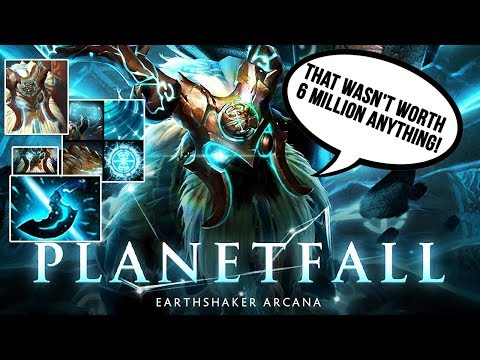 EARTHSHAKER ARCANA PLANETFALL FULL PREVIEW TI9 BATTLE PASS COMPENDIUM 2019 + EPIC VOICE LINES Dota 2