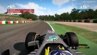 F1 2013 Xbox 360 - Team Mate Battle - Suzuka Scenario