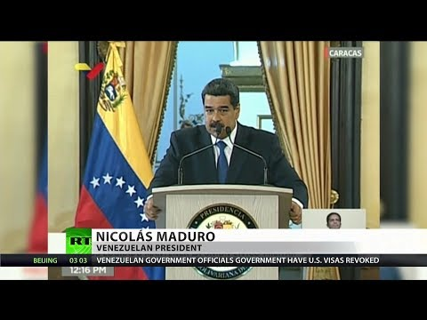 Venezuela accuses US of smuggling arms in aid