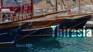 Destination Santorini,Greece!Thirasia ultra HD!