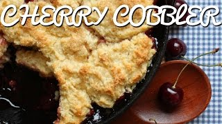 Simple Cherry Cobbler Recipe
