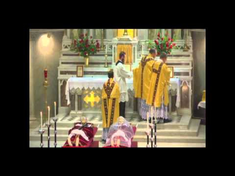 Procession and Reinterment of the Relics of St. Magnus & St. Bonosa