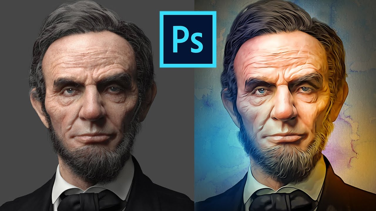 21+ Oil Paint Photoshop Action - Template Updates
