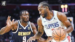 Denver Nuggets Vs Los Angeles Clippers   Full  Highlights | October 10, 2019 | 2019 Nba Preseason