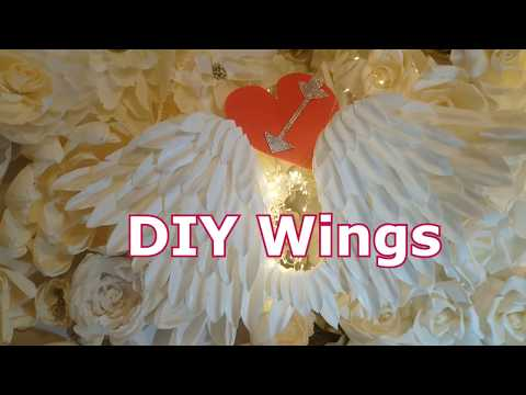 DIY WINGS/HANDMADE WINGS/How to make Angel's wings