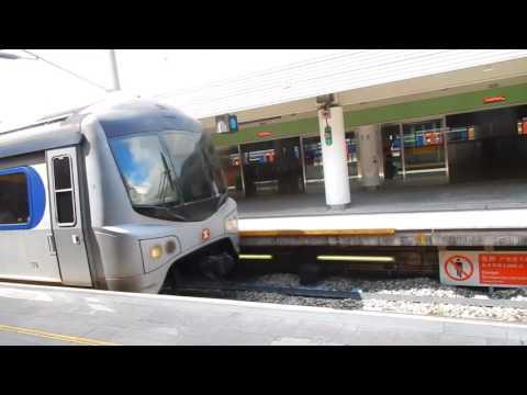 Taking Train from Shenzhen to Hong Kong