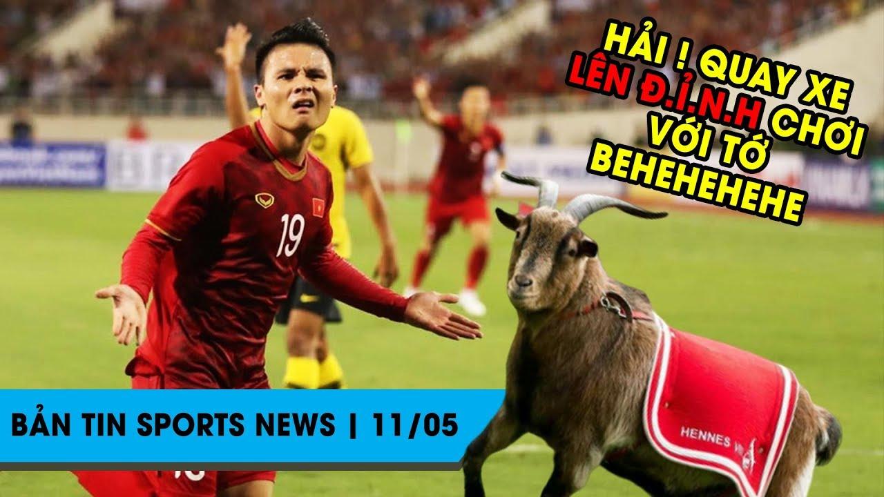 Sports News ngày 11/05 | Quang Hải lọt top huyền thoại châu Á, Cô Vy lại tấn công Premier League