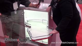 Kbis 2014: Rev-a-shelf Displays New Innovations In Cabinet Storage