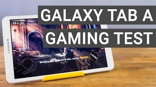 Samsung Galaxy Tab A 10.1 Gaming + Performance Test