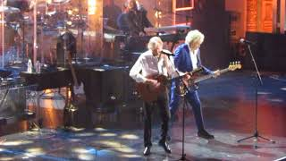 2018 Rock & Roll Hall of Fame THE MOODY BLUES Complete NIGHTS IN WHITE SATIN