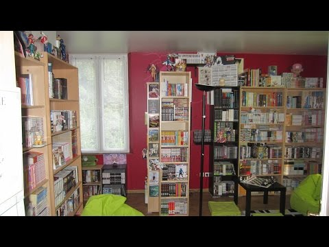 Outstanding manga/anime collection (8000+ volumes !)