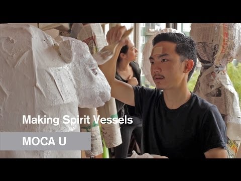 Making Spirit Vessels - MOCA Teens