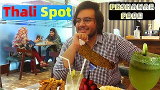 Peshawar food thali spot university town   Desi Chaniese Indian and Pakistani Food at one place