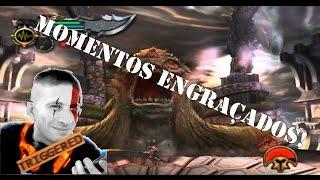 Momentos engraçados (Live do VictorKratos - God of War Speedrun General Kratos)